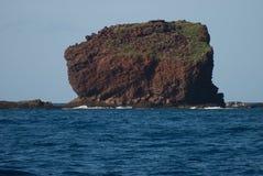 Tropikalny widok, Lanai punkt obserwacyjny, Hawaje Obraz Royalty Free