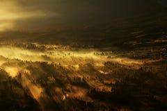 Tropikalny wschód słońca zdjęcie royalty free