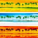 Tropikalny wybrzeże Zdjęcie Stock