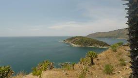 Tropikalny wybrzeże na Phuket wyspie w Thailand zbiory
