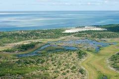 tropikalny wybrzeże Zdjęcia Royalty Free