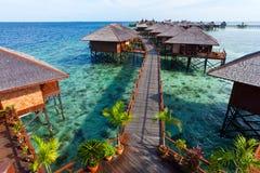 tropikalny wyspa kurort Fotografia Stock