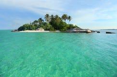 Tropikalny wyspa raj Obrazy Stock