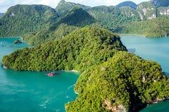 Tropikalny wyspa raj Fotografia Stock