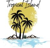 Tropikalny wyspa raju plaży Hawaii słońca wzór zdjęcie stock