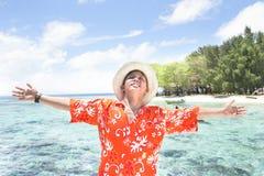 tropikalny wyspa wakacje Obrazy Royalty Free