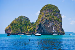 tropikalny wyspa wapień Obraz Stock