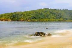 Tropikalny zmierzch Fotografia Royalty Free