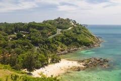 Tropikalnych wysp, ocean wybrzeże, Phuket Tajlandia Fotografia Royalty Free