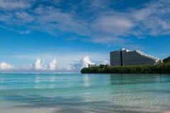 Tropiques de la Guam images libres de droits
