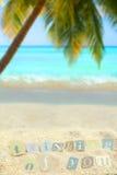 Tropiques pensifs Photo libre de droits