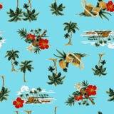Tropisch beeld in patroon, Stock Foto