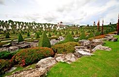 Tropisch botanisch park royalty-vrije stock foto's
