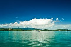 Tropisch Eiland Royalty-vrije Stock Foto