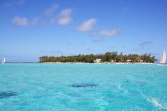 Tropisch eiland Royalty-vrije Stock Afbeelding