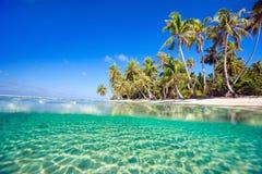 Tropisch eiland royalty-vrije stock fotografie