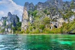 Tropisch eiland in Thailand Stock Afbeeldingen