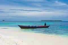 Tropisch eilandenlandschap Stock Foto's