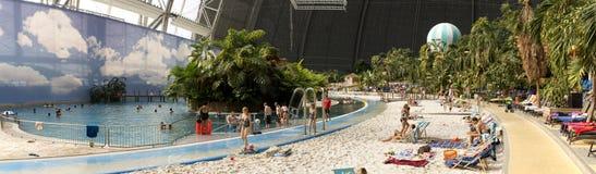 Tropisch Eilandenpanorama Stock Foto