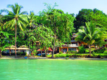Tropisch eilandstrand in Thailand Royalty-vrije Stock Afbeelding