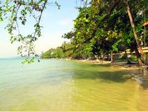Tropisch eilandstrand in Thailand Royalty-vrije Stock Foto