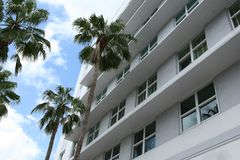Tropisch flatgebouw Royalty-vrije Stock Foto