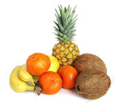 Tropisch fruit Royalty-vrije Stock Afbeeldingen