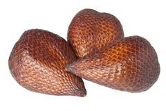 Tropisch fruit - fruit Salak stock foto's
