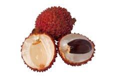 Tropisch fruit - Litchi Royalty-vrije Stock Foto's