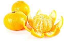 Tropisch fruit. Mandarijn Royalty-vrije Stock Afbeeldingen