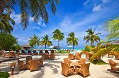 Tropisch hotel Royalty-vrije Stock Afbeeldingen