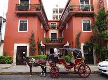 Tropisch Hotel in Merida Yucatan Royalty-vrije Stock Afbeelding