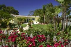 Tropisch huis stock foto
