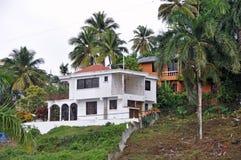 Tropisch Huis Stock Afbeelding