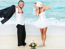 Tropisch huwelijk Stock Afbeelding