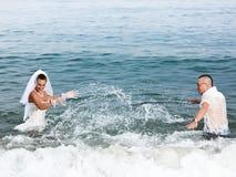 Tropisch huwelijk Royalty-vrije Stock Afbeeldingen