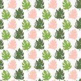 Tropisch Installatie Naadloos Patroon vector illustratie