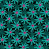 Tropisch Installatiepatroon met Roze Fruit stock illustratie