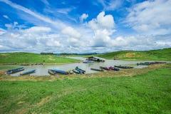 Tropisch Klimaat, Danang, HuẠ¿, Vietnam, Baai van Water royalty-vrije stock afbeelding