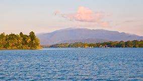 Tropisch landschap, Guatemala royalty-vrije stock fotografie
