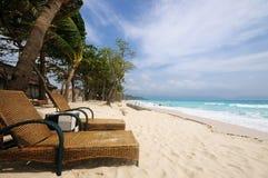 Tropisch landschap van Boracay, Filippijnen Stock Fotografie