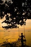Tropisch landschap van Koh Chang Royalty-vrije Stock Foto