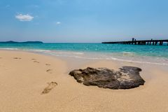 Tropisch landschap van Koh Kood Stock Afbeelding