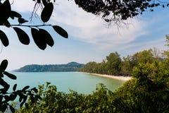 Tropisch landschap van Koh Kood Stock Foto