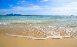 Tropisch Overzees en Strand Stock Afbeelding