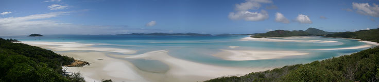 Tropisch panorama stock foto