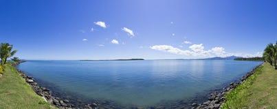 Tropisch panorama in Fiji Royalty-vrije Stock Foto