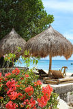 Tropisch paradijs. Boracayeiland, Filippijnen. Royalty-vrije Stock Foto