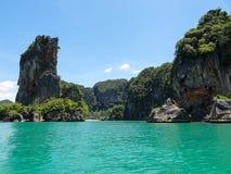 Tropisch Paradijs in Thailand Royalty-vrije Stock Afbeeldingen