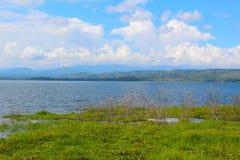 Tropisch Reservoir royalty-vrije stock foto's